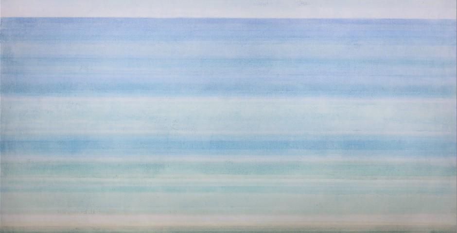 zarter Horizont      Aquarell 20 x 30 cm