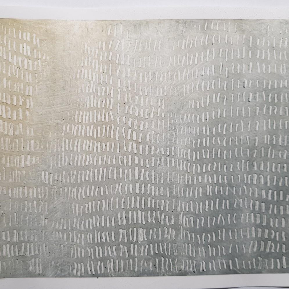 ohne Titel Pigmente auf Papier 15x20cm